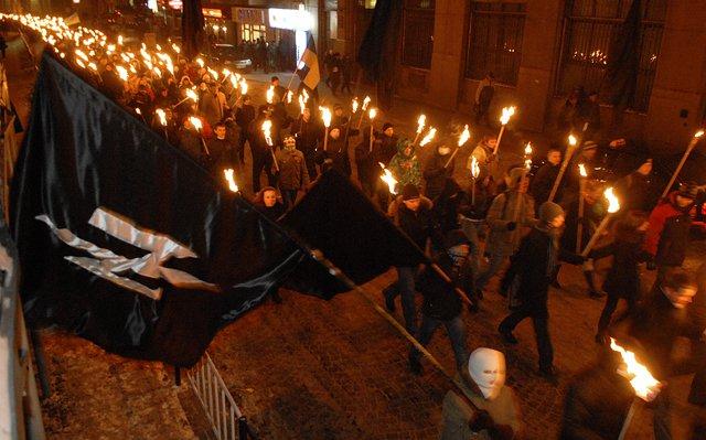 Фашисты Львова шагают в Европу