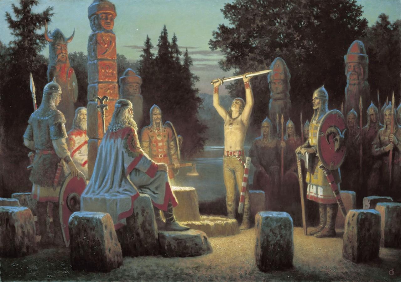 3. Древние славяне не были язычниками. Древняя Русь, история, славяне