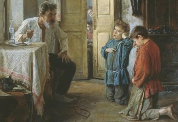 Какими были наказания для провинившихся детей на Руси