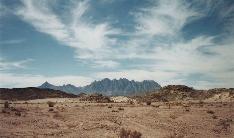 Синайская пустыня Египта природа, пустыня