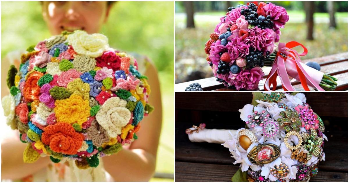 Оригинальные идеи самых необычных букетов: оказывается, он может быть не только из цветов