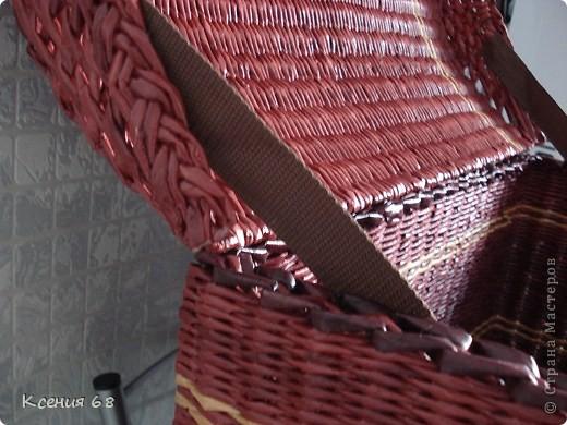 """Мастер-класс Плетение: Сундук на колесах в стиле """"минимализм"""" Бумага газетная Отдых. Фото 37"""