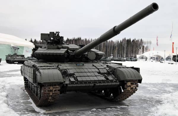 Т-72БМЭ растоптал гордость украинского танкостроения