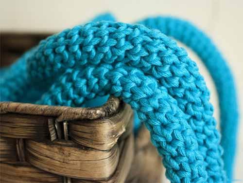 Как связать круглый шнур крючком