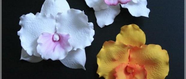 Орхидея из фоамирана. Мастер класс Зверевой Ирины