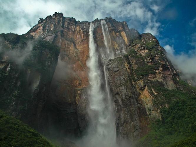 5. Водопад Анхель водопады, красота, природа