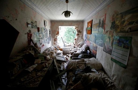 Крик итальянца из Донецка (18+)