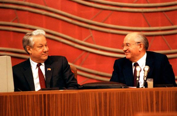 Горбачёв назвал Ельцина своей ошибкой