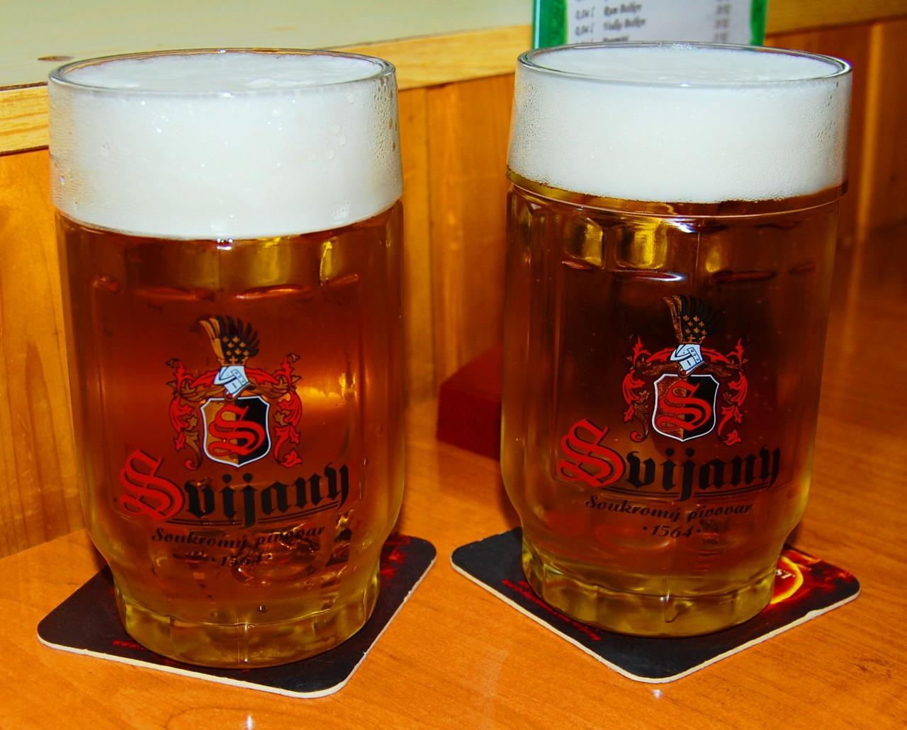Кружечка чешского свежего пива спасает от простуды и не только...