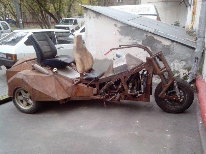 Автомобильный юмор (35 фото)