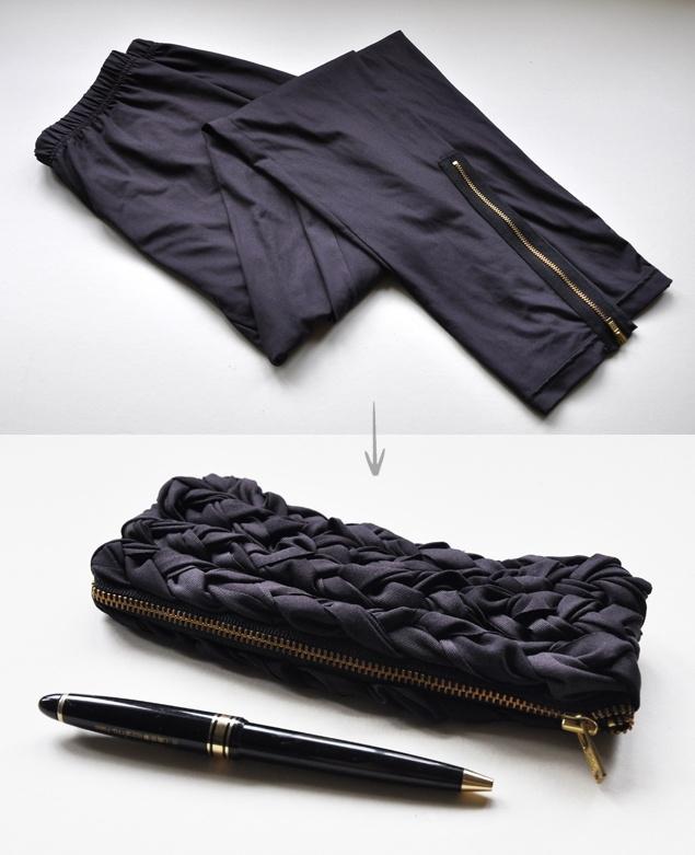 Клатч из брюк
