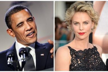Актриса Шарлиз Терон пригласила Барака Обаму в стриптиз-клуб