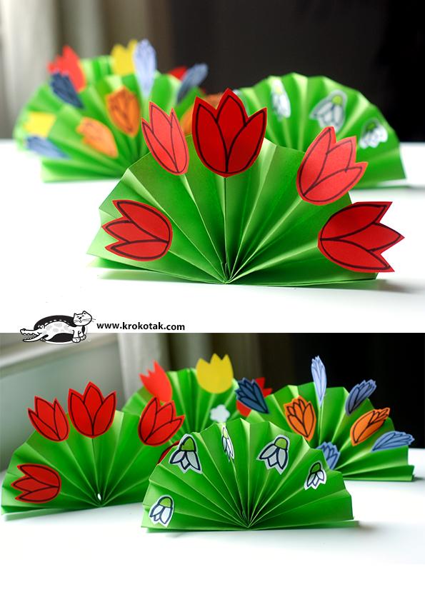 Как делать поделки из цветной бумаги своими
