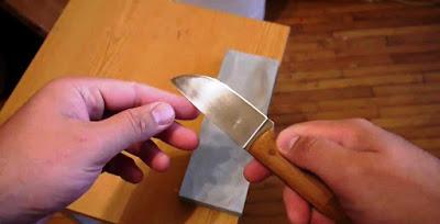 Как быстро научиться точить ножи