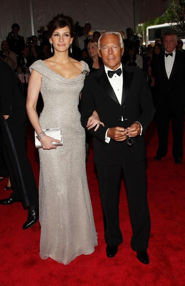 Джулия Робертс в платье Giorgio Armani - фото