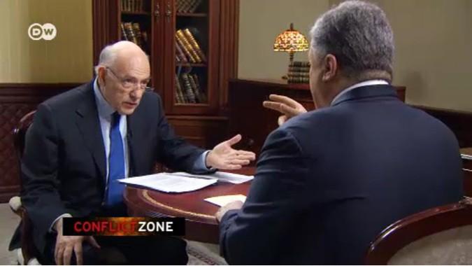 Deutche Welle перевели на русский интервью, из-за которого Порошенко до сих пор в бешенстве