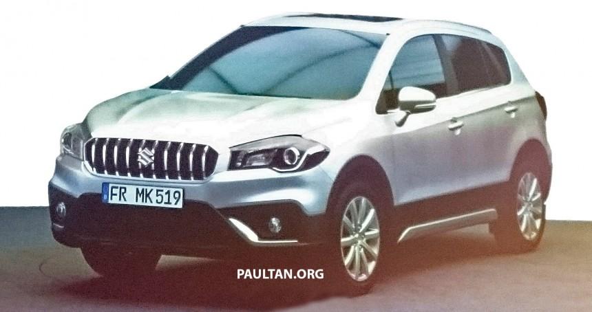 Рестайлинг Suzuki SX4 рассекретили в сети
