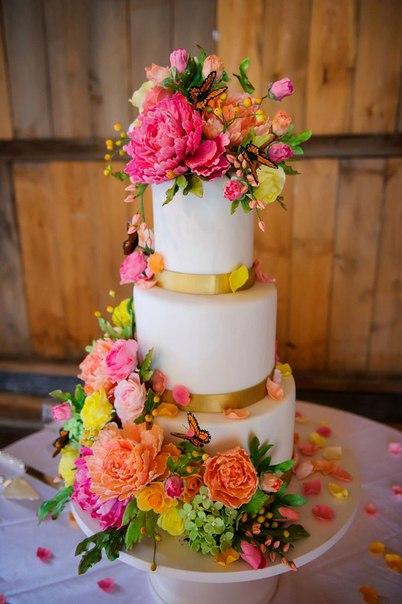 Красивые торты ручной работы. Идеи