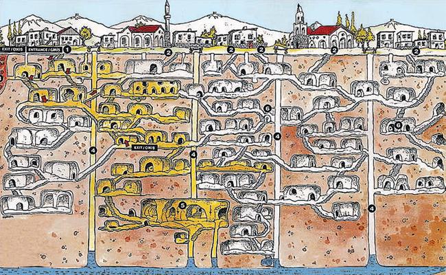 Подземные тоннели под всеми