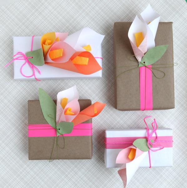 Упаковка на день рождения своими руками