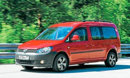 VW Caddy из парка ЗР: честный труженик