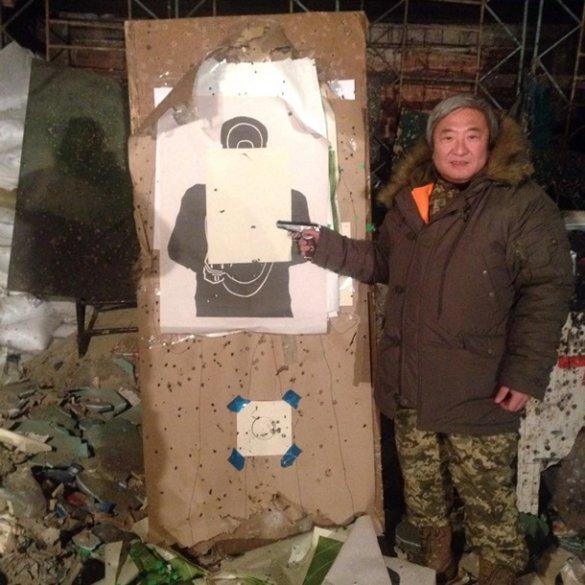 Мэр Запорожья Александр Син заявил, что находится в зоне проведения так называемой АТО
