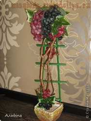 Мастер-класс по декорированию: Виноградный топик