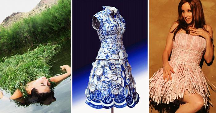 15 Самых креативных платьев в мире