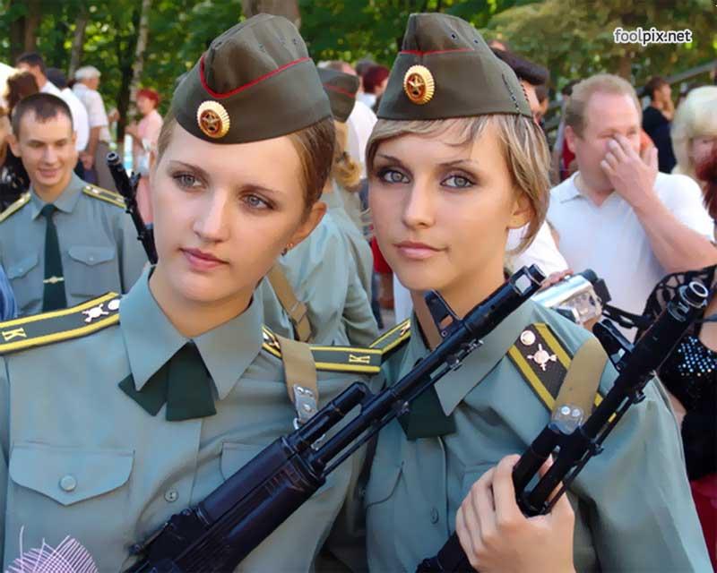 Девушки на службе в армии фото 60