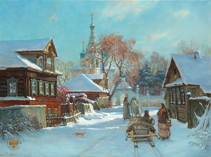 Рождество в русской живописи
