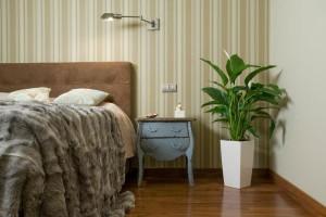 спатифиллум в спальне