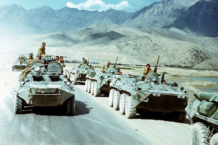 ФОТО: вывод войск СССР из Афганистана