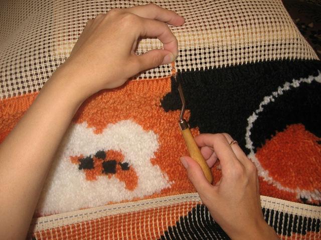 Схема коврика своими руками