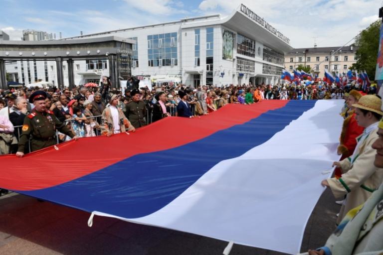 Уровень патриотизма у россиян достиг исторического максимума