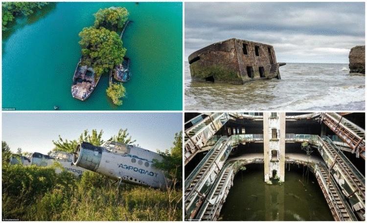 Забыты во времени: 26 заброшенных объектов, которые оставили ржаветь и разрушаться