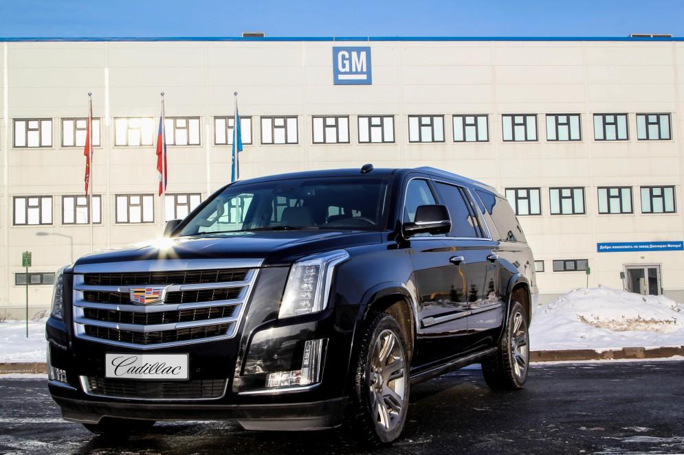 В России стартовало производство нового Cadillac Escalade