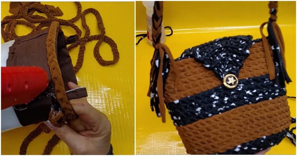 Эффектная сумочка с секретом…