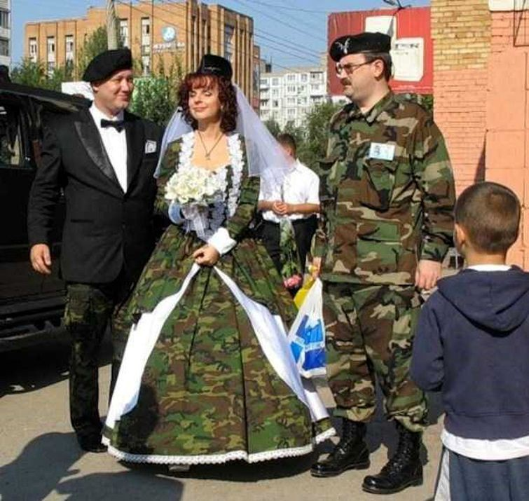 25 свадебных фотографий, после которых вы точно передумаете жениться свадьба, треш