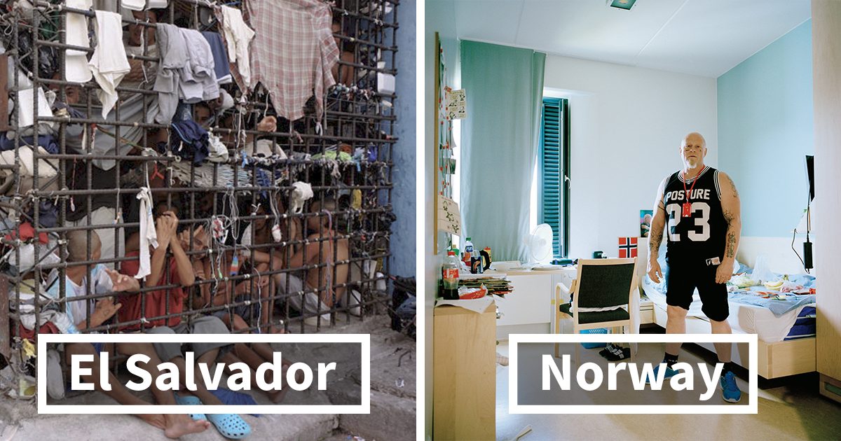 20+ Controversial Photos Of Prison Cells Reveal How Differently Countries Treat Their Criminals