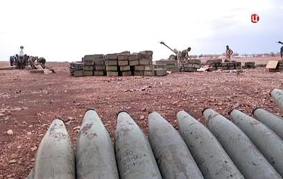 Турция выпустила полсотни снарядов по северным районам Сирии
