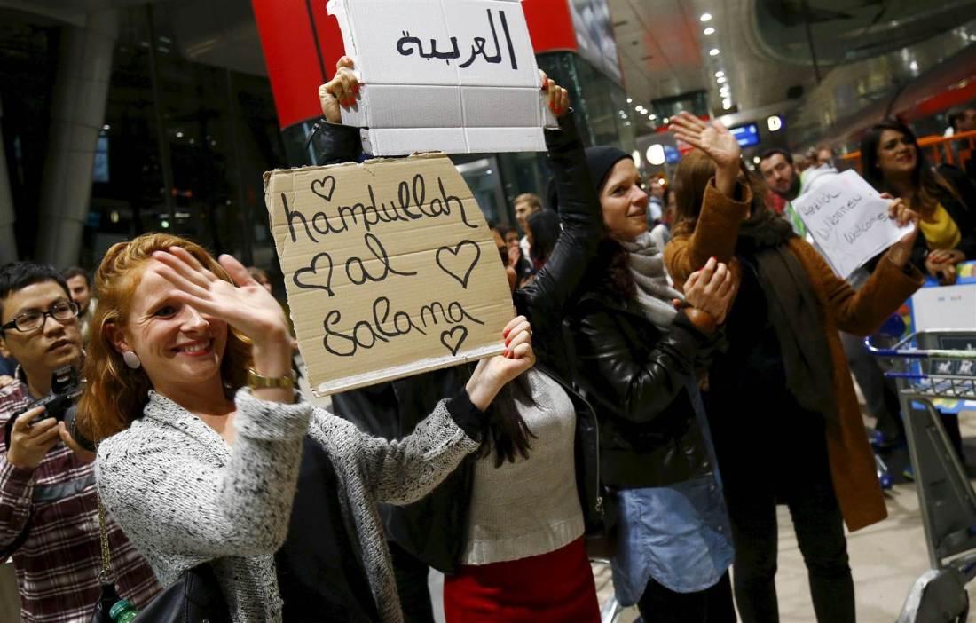 Мигранты, добро пожаловать в Европу!
