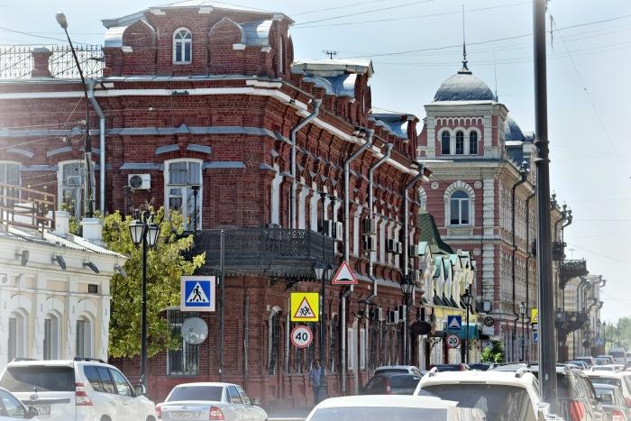 Немного архитектуры Астрахани в фотографиях.
