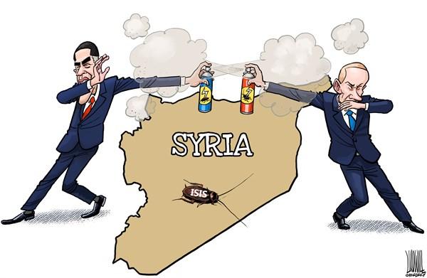 Что общего у Сирии и Донбасса ?