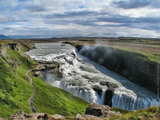 3. Водопад Гюдльфосс водопады, красота, природа