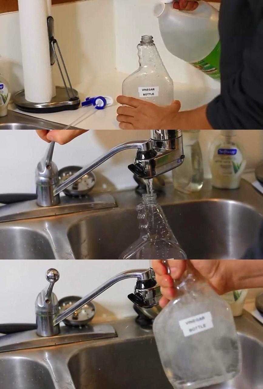 4. Универсальное чистящее средство быт, идея, уксус
