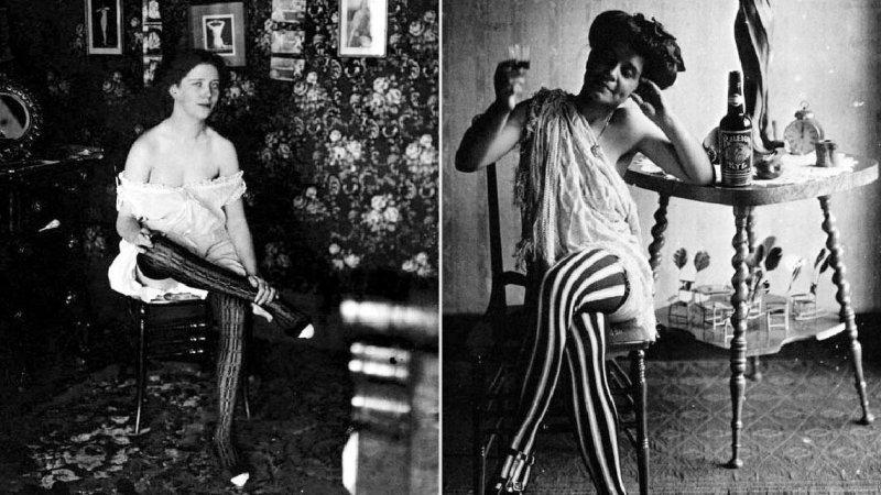 На заре эротической фотографии: снимки из американского борделя 19 века