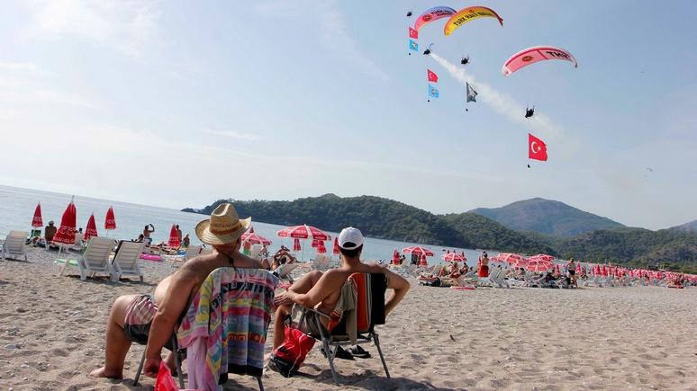 Daily Sabah: конфликт с США пошёл турецкому туризму на пользу