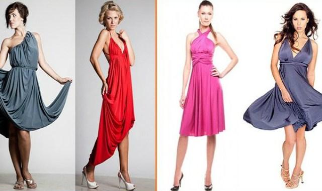 2 самых простых мастер-класса по шитью платья трансформер своими руками. Плюсы данного платья очевидны: оно подходит на любую фигуру