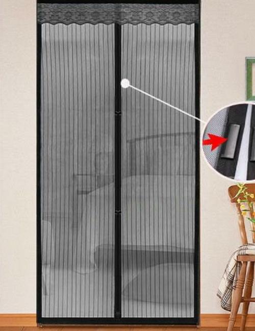 Москитная сетка на магнитах на дверь сделать своими руками
