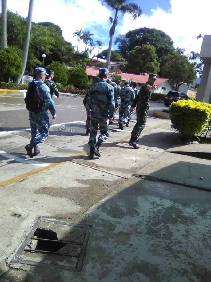Китайские военные в Венесуэле